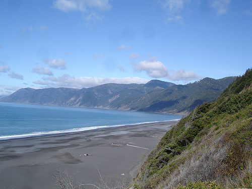 Best Beach Of California Black Sands